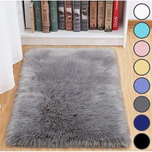 COPY - NEW! Fluffy Luxury Area Rugs 2 total